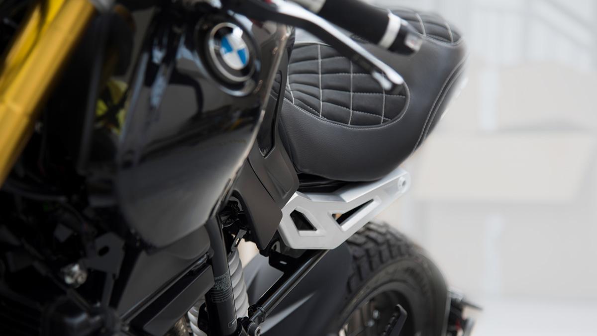 Dettaglio motocicletta BMW